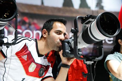 Stoiska firmy Canon na targach Photkina 2014 należy do największych i najbardziej popularnych.