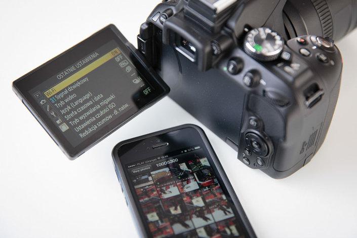 вашему вниманию как фотоаппарат соединить с телефоном прога следующий цвет