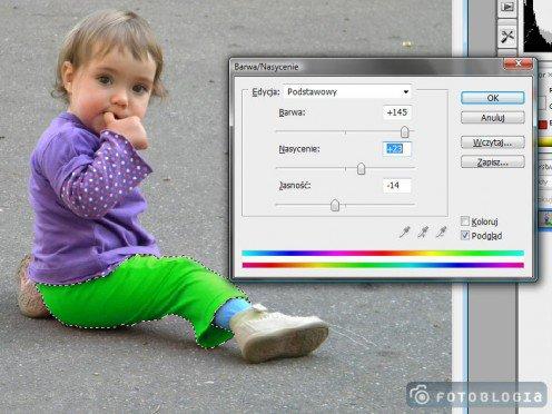 Photoshop Jak Zmienić Kolor Ubrania Fotoblogiapl