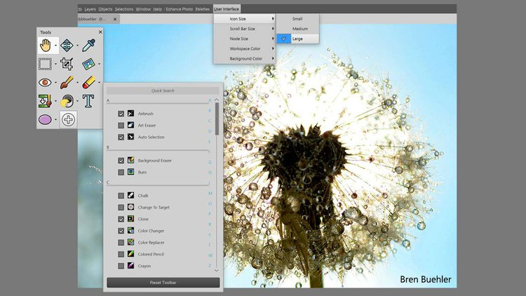 Corel wypuszcza paintshop pro 2018 kt ry nadal b dzie for Art editing software